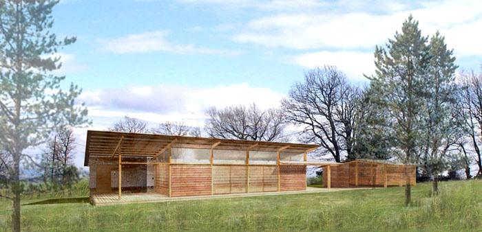 Maison bois bioclimatique / Basse énergie : image_projet_mini_13541