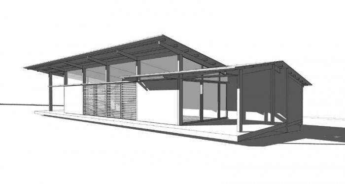 Maison bois bioclimatique / Basse énergie : 07_maison bois bioclimatique