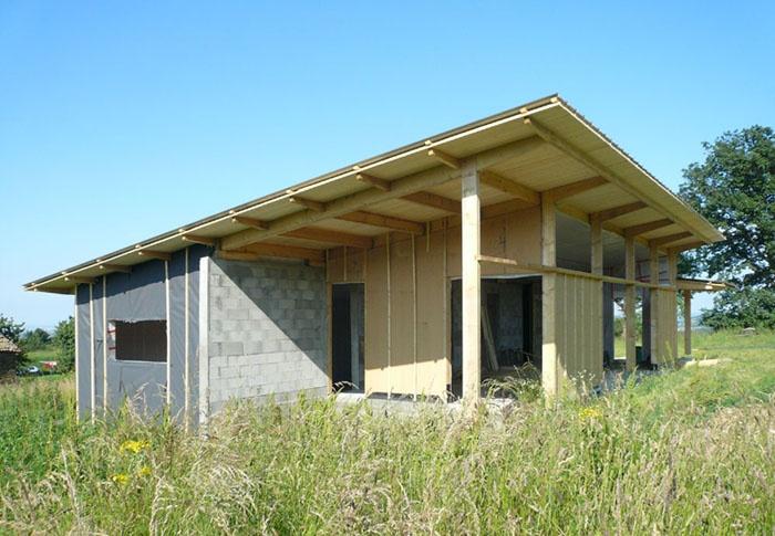 Maison bois bioclimatique / Basse énergie : 17_maison bois bioclimatique