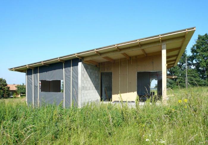 Maison bois bioclimatique / Basse énergie : 18_maison bois bioclimatique