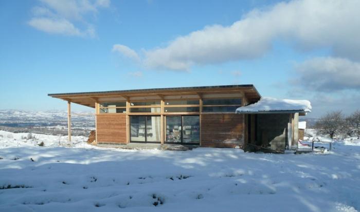 Maison bois bioclimatique / Basse énergie : 26_maison bois bioclimatique.JPG