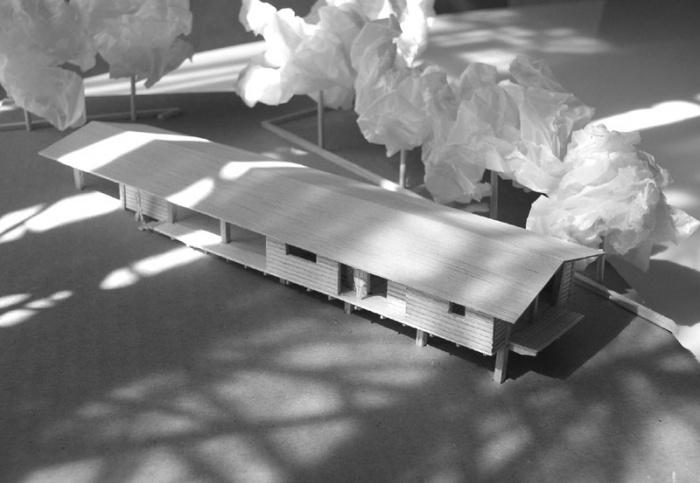 Maison bois sur pilotis : 03_Maison sur pilotis_maquette.JPG
