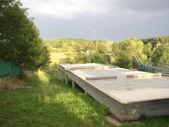 Maison bois sur pilotis : 08_Maison sur pilotis_chantier.JPG