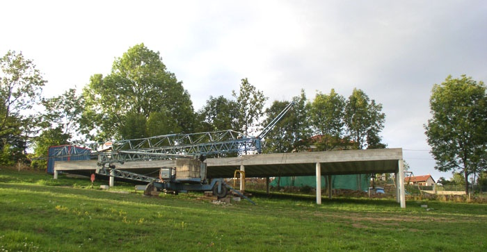 Maison bois sur pilotis : 11_Maison sur pilotis_chantier.JPG