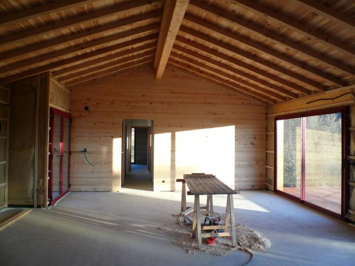Maison bois sur pilotis : 18_Maison sur pilotis_chantier.JPG
