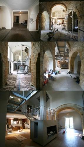 Rénovation d'une ancienne Chapelle du 12e : maison-2-travaux-renovation