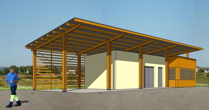 Construction du bâtiment d'exploitation de la déchetterie de Mercurol (26) : image_projet_mini_27189