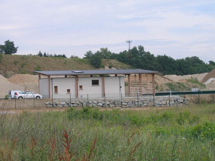 Construction du bâtiment d'exploitation de la déchetterie de Mercurol (26) : 2
