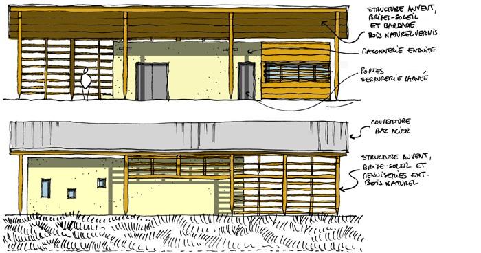 Construction du bâtiment d'exploitation de la déchetterie de Mercurol (26) : 4