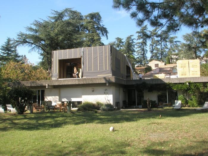 Surélévation d'une maison à toit plat : 1.JPG