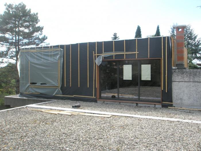 Surélévation d'une maison à toit plat : P9270025.JPG