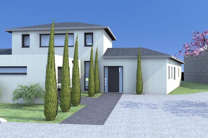 Maison individuelle : vue 1