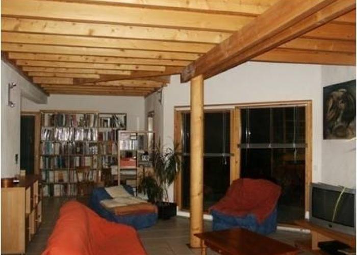 Maison individuelle ossature bois : latour salon