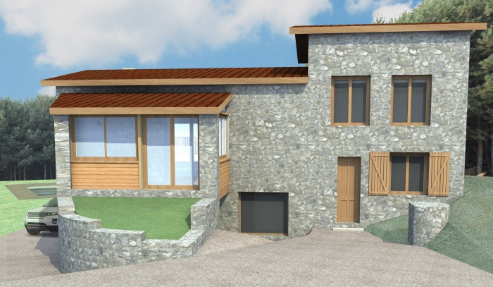 Extension maison individuelle : 1110-pers3
