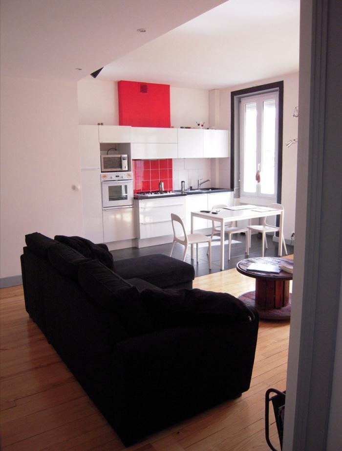 Rénovation d'un appartement : cuisine après travaux
