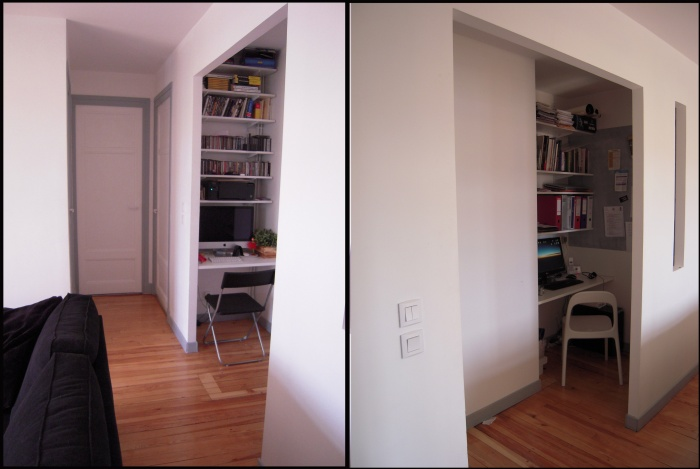 Rénovation d'un appartement : bureaux