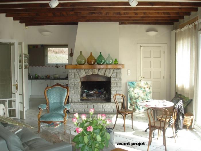 Rénovation d'un sejour / cuisine