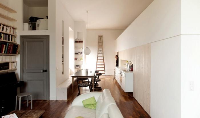 restructuration d'un appartement à la Croix-Rousse