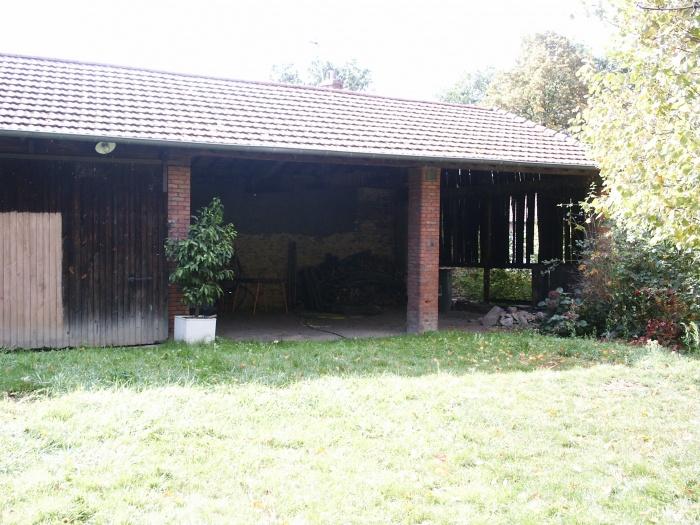 Extension et rénovation d'un corps de ferme : grange état initial