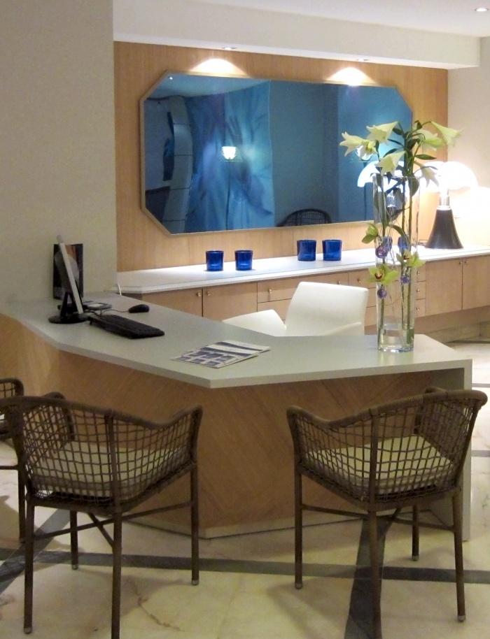 LOBBY HOTEL LES CELESTINS***** : Accueil spa