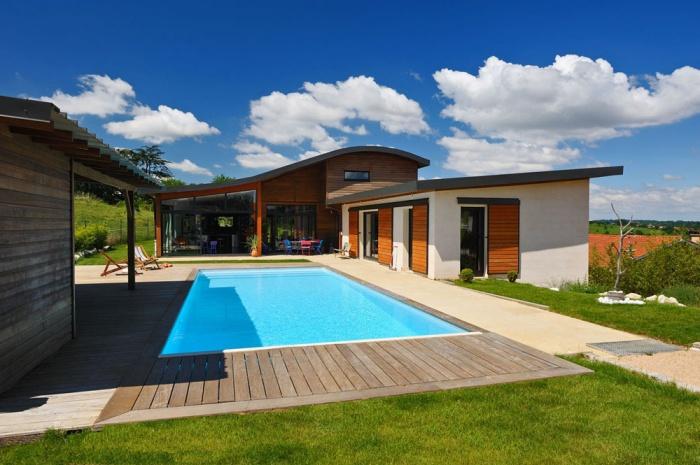 Maison contemporaine bois & béton : 01_VANE
