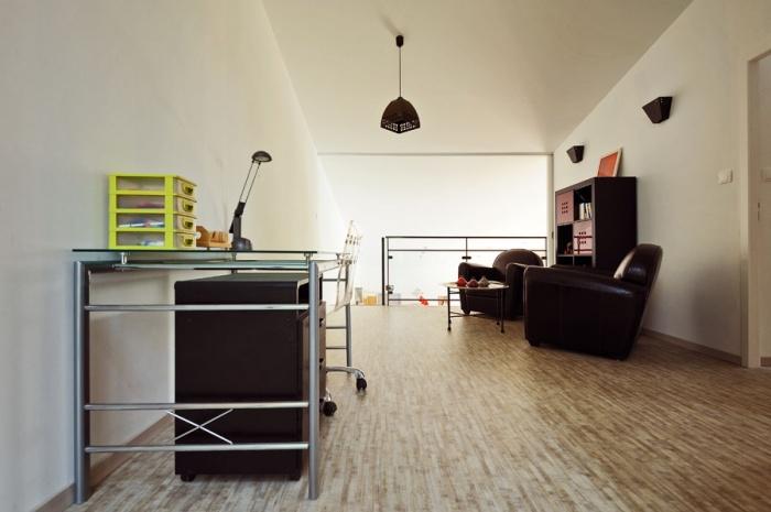 Maison contemporaine bois & ouate de cellulose / Basse énergie : 16_PARA