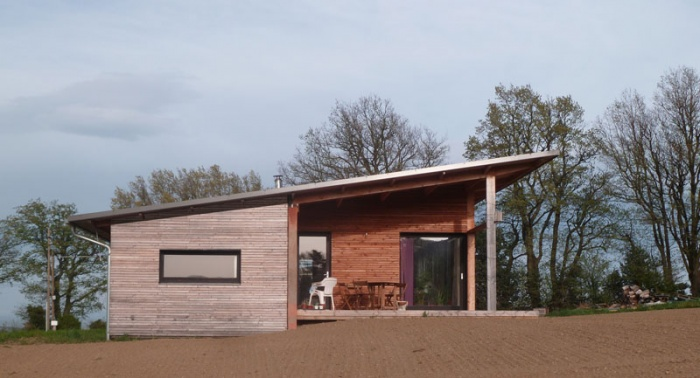 Maison bois bioclimatique / Basse énergie : image_projet_mini_61704