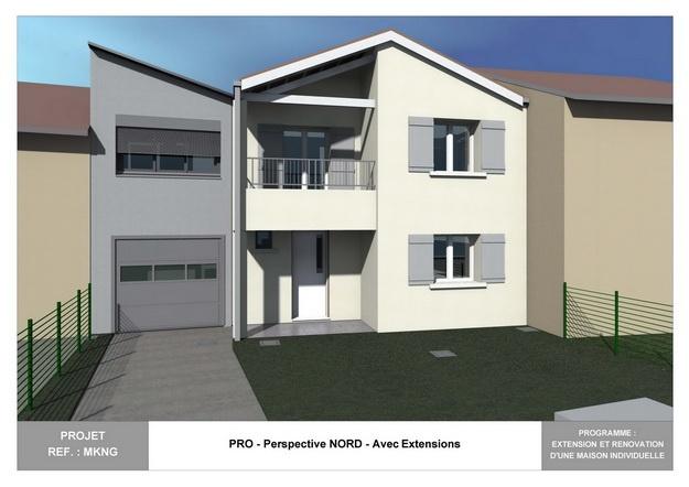 MKNG - Extension et Rénovation d'une Maison Individuelle : mkng_arch_lyon_04