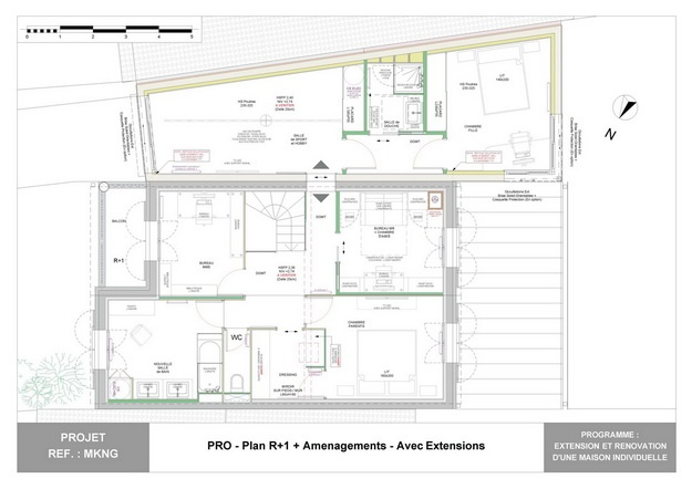 MKNG - Extension et Rénovation d'une Maison Individuelle : mkng_arch_lyon_08