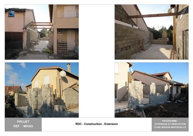 MKNG - Extension et Rénovation d'une Maison Individuelle : mkng_arch_lyon_09