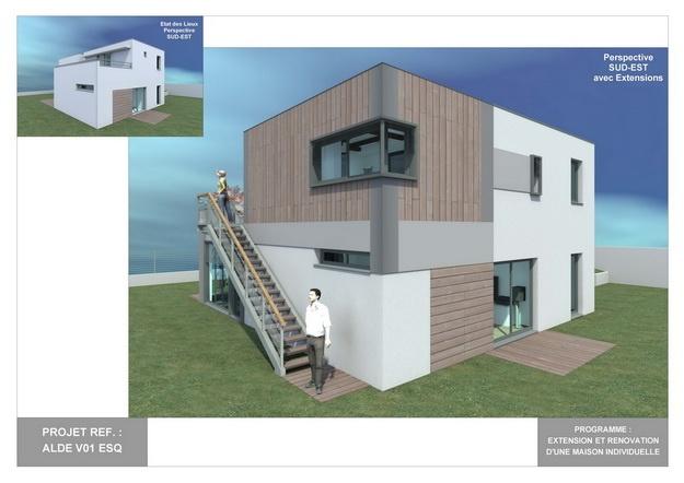 ALDE - V01 - Extension et Rénovation d'une Maison Individuelle : alde_v01_esq_02