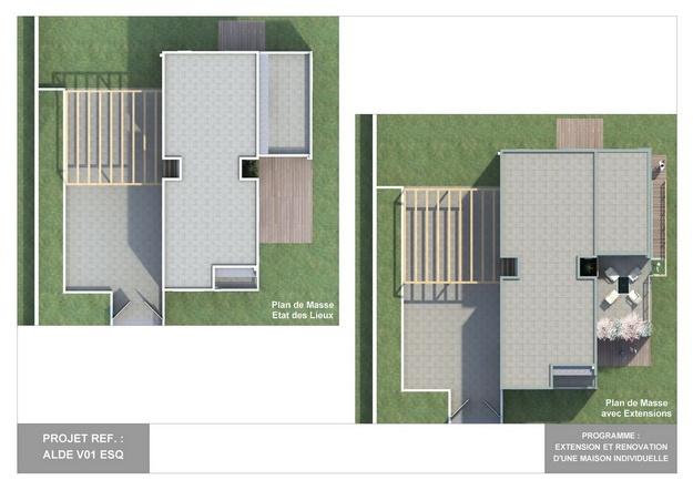 ALDE - V01 - Extension et Rénovation d'une Maison Individuelle : alde_v01_esq_03