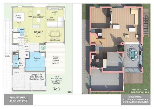 ALDE - V01 - Extension et Rénovation d'une Maison Individuelle : alde_v01_esq_04