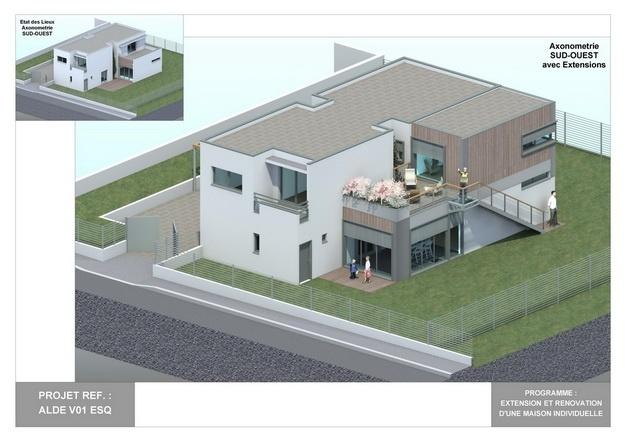 ALDE - V01 - Extension et Rénovation d'une Maison Individuelle : alde_v01_esq_09