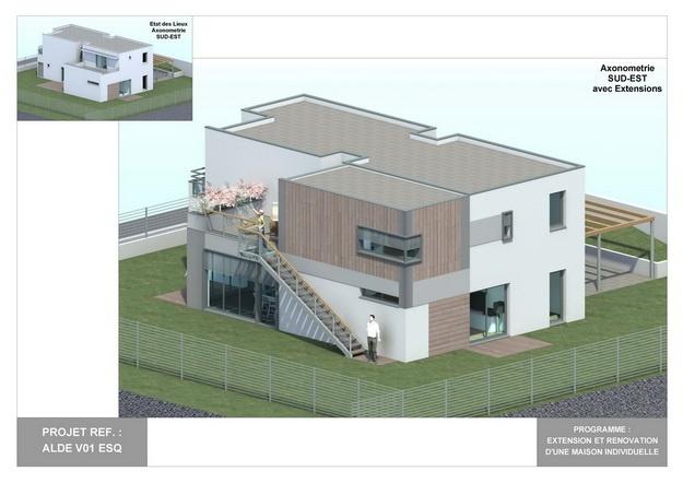 ALDE - V01 - Extension et Rénovation d'une Maison Individuelle : alde_v01_esq_10