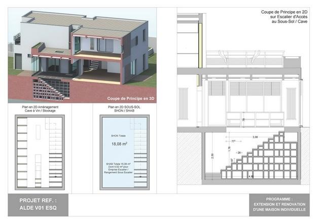 ALDE - V01 - Extension et Rénovation d'une Maison Individuelle : alde_v01_esq_14