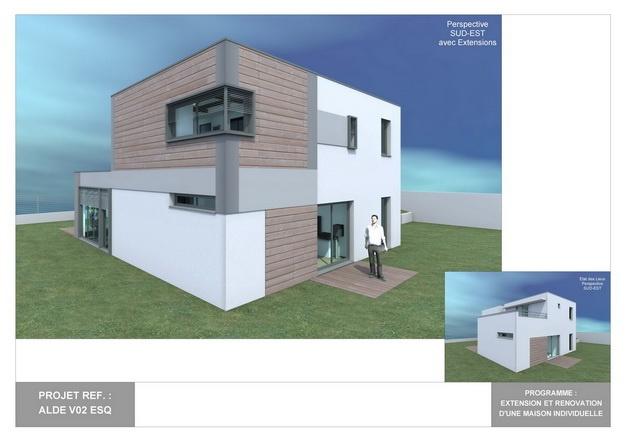 ALDE - V02 - Version et Rénovation d'une Maison Individuelle : alde_v02_esq_02