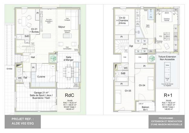 ALDE - V02 - Version et Rénovation d'une Maison Individuelle : alde_v02_esq_10