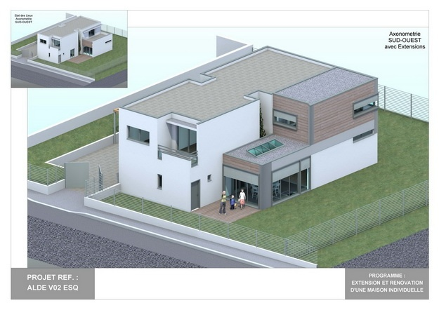 ALDE - V02 - Version et Rénovation d'une Maison Individuelle : alde_v02_esq_12