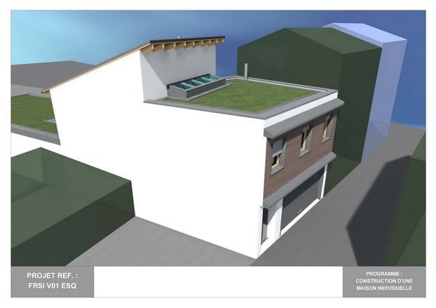 RDC - V01 - Maison Bio-Climatique avec Patio : frsi_v01_esq_04