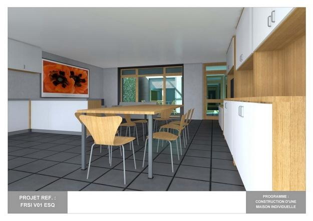 RDC - V01 - Maison Bio-Climatique avec Patio : frsi_v01_esq_11
