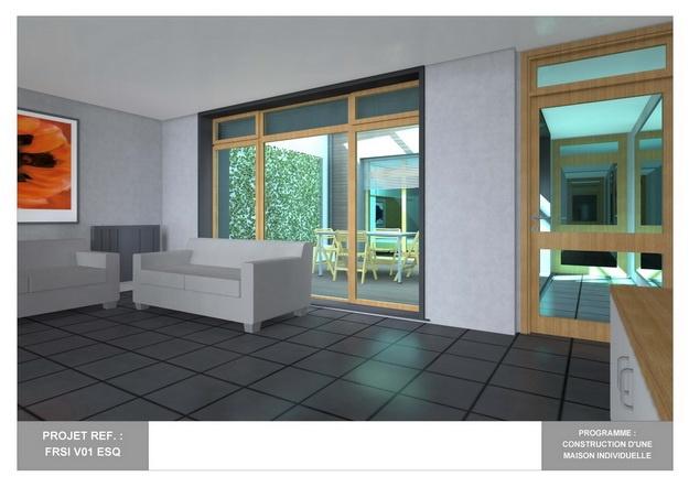 RDC - V01 - Maison Bio-Climatique avec Patio : frsi_v01_esq_13