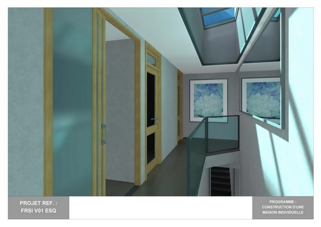 RDC - V01 - Maison Bio-Climatique avec Patio : frsi_v01_esq_19