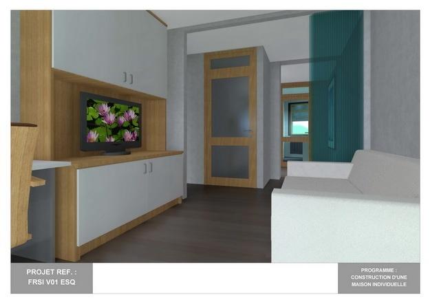 RDC - V01 - Maison Bio-Climatique avec Patio : frsi_v01_esq_20