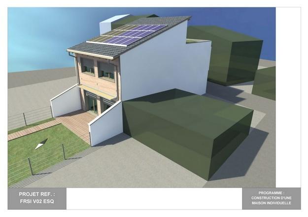 RDC - V02 - Maison Bio-Climatique : frsi_v02_esq_02