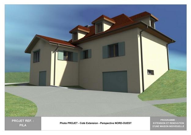 PILA - Extension et Rénovation d'une Maison Individuelle : pila_dp_rea_02