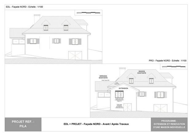 PILA - Extension et Rénovation d'une Maison Individuelle : pila_dp_rea_13