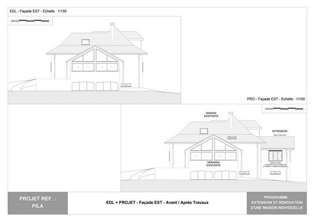 PILA - Extension et Rénovation d'une Maison Individuelle : pila_dp_rea_14