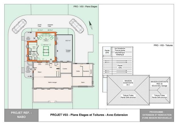 NABO - Extension et Rénovation d'une Maison Individuelle : nabo_esq_v03_03