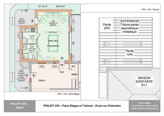 NABO - Extension et Rénovation d'une Maison Individuelle : nabo_esq_v03_05